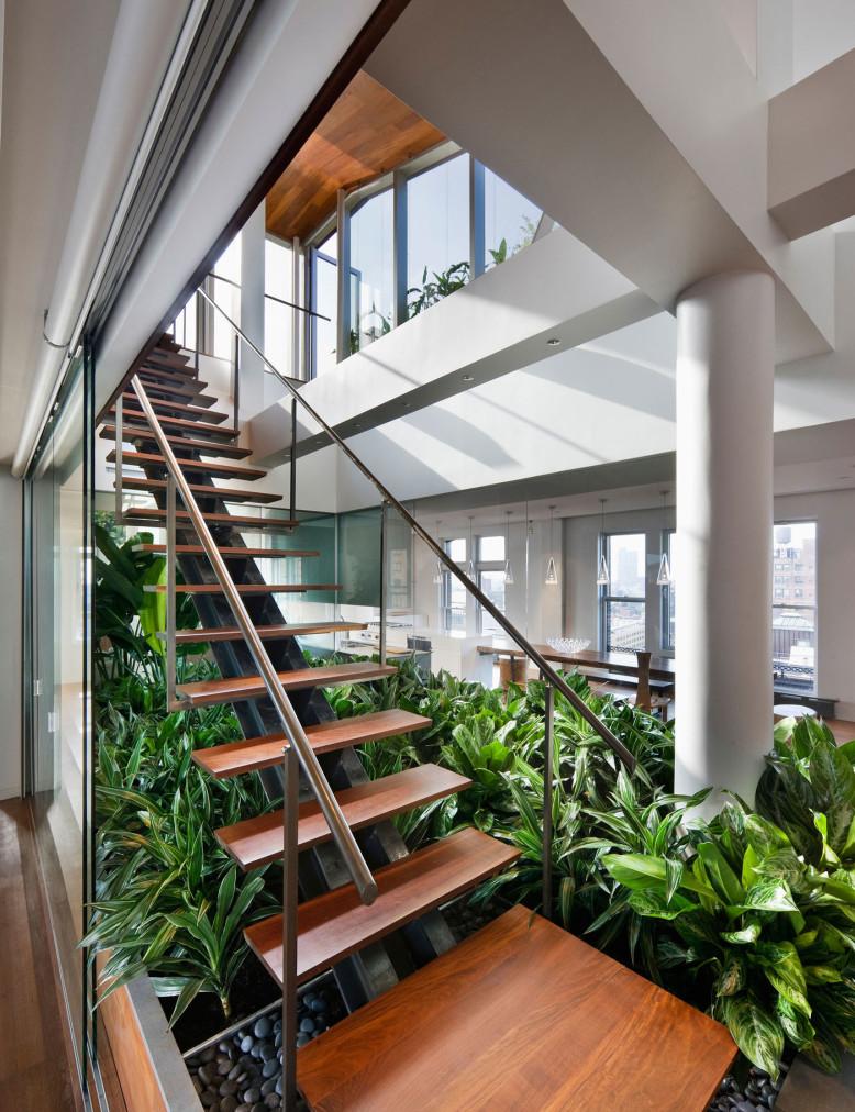 Broadway Penthouse by Joel Sanders Architect