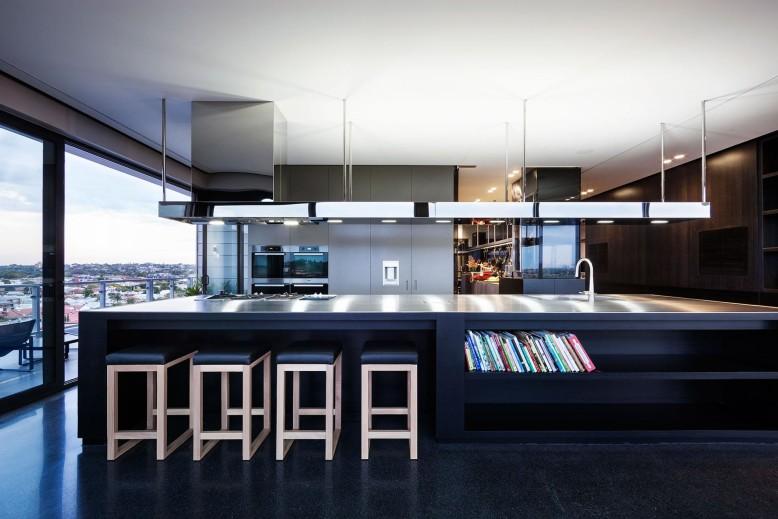 Stylish Penthouse, Victoria, Australia by Jam Architecture