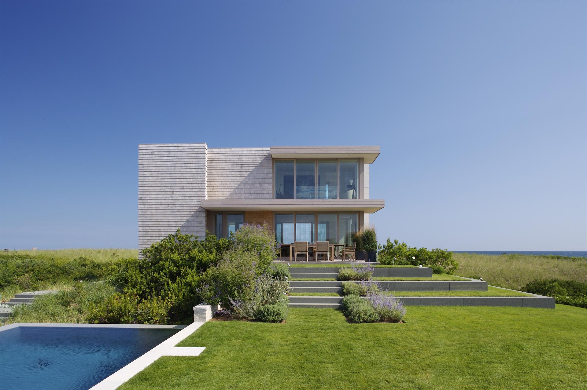 Dune Road Residence By Stelle Architects Homedezen