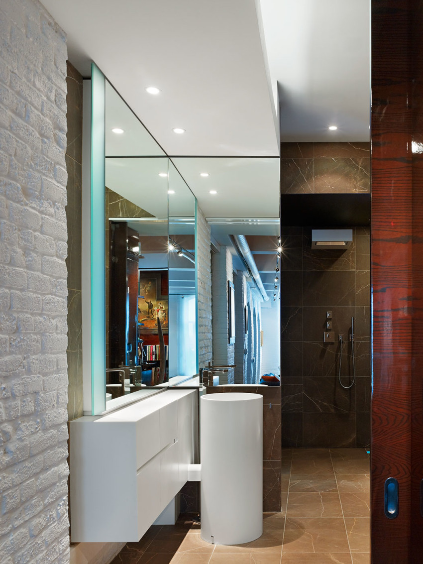 Penthouse at the Candy Factory Lofts by Johnson Chou
