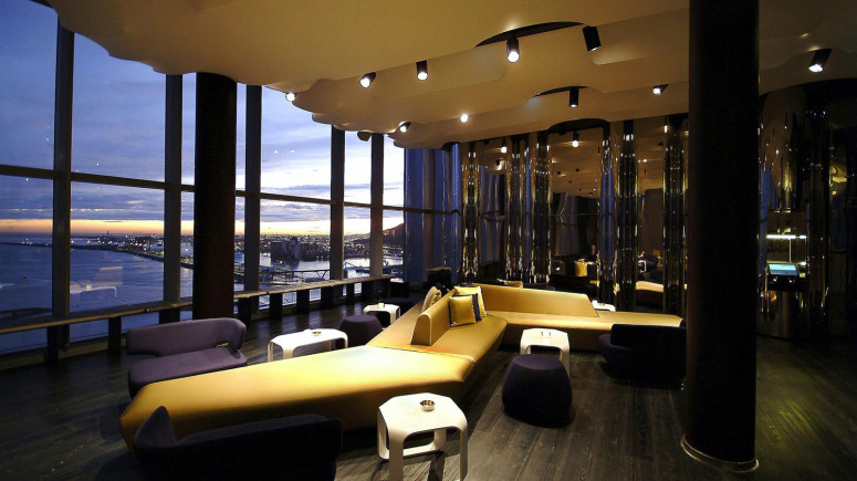 Beautiful Hotel in Barcelona by Ricardo Bofill