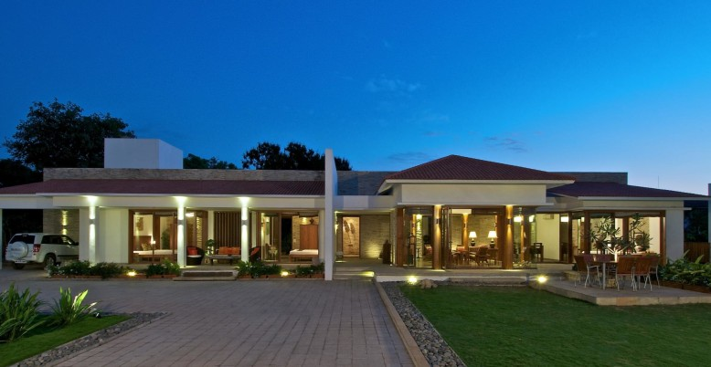luxury residence in India