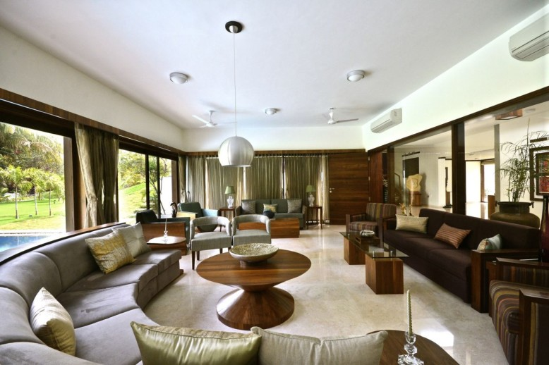 Luxurious single floor dwelling in India