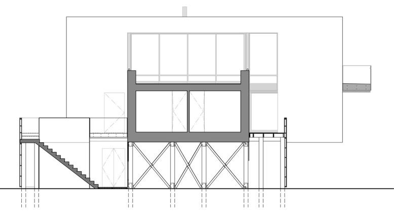 Beach Walk House by SPG Architects