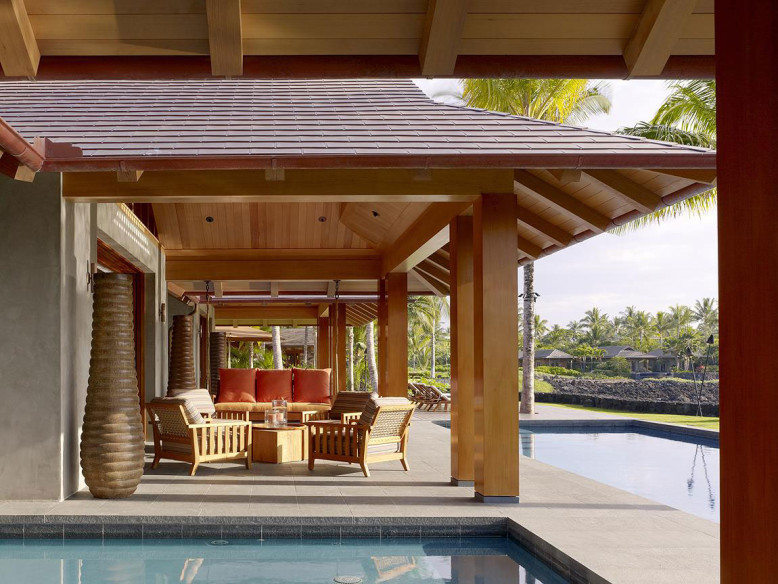 contemporary home in Hawaii