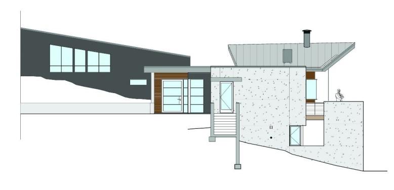 Edge House by Studio B Architects