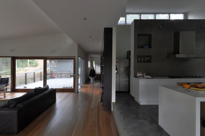 modern living space by Bourne Blue Architecture