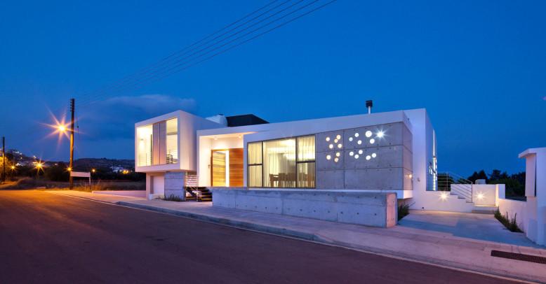 Funnel House by Lambrianou Koutsolambros Architects