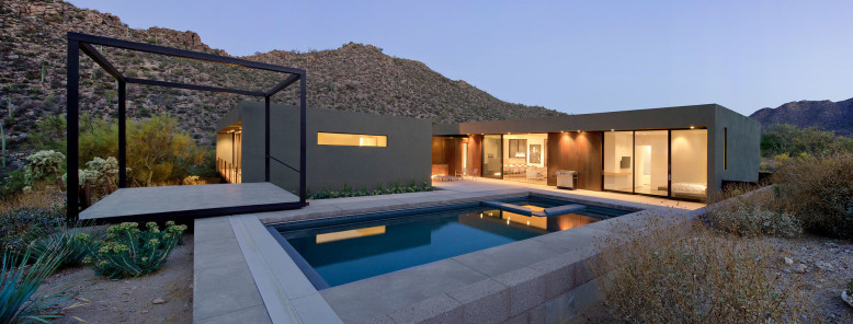 Levin Residence by Ibarra Rosano Design Architects