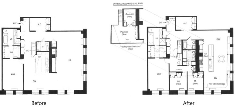 Loft Apartment Renovation by Guillaume Gentet