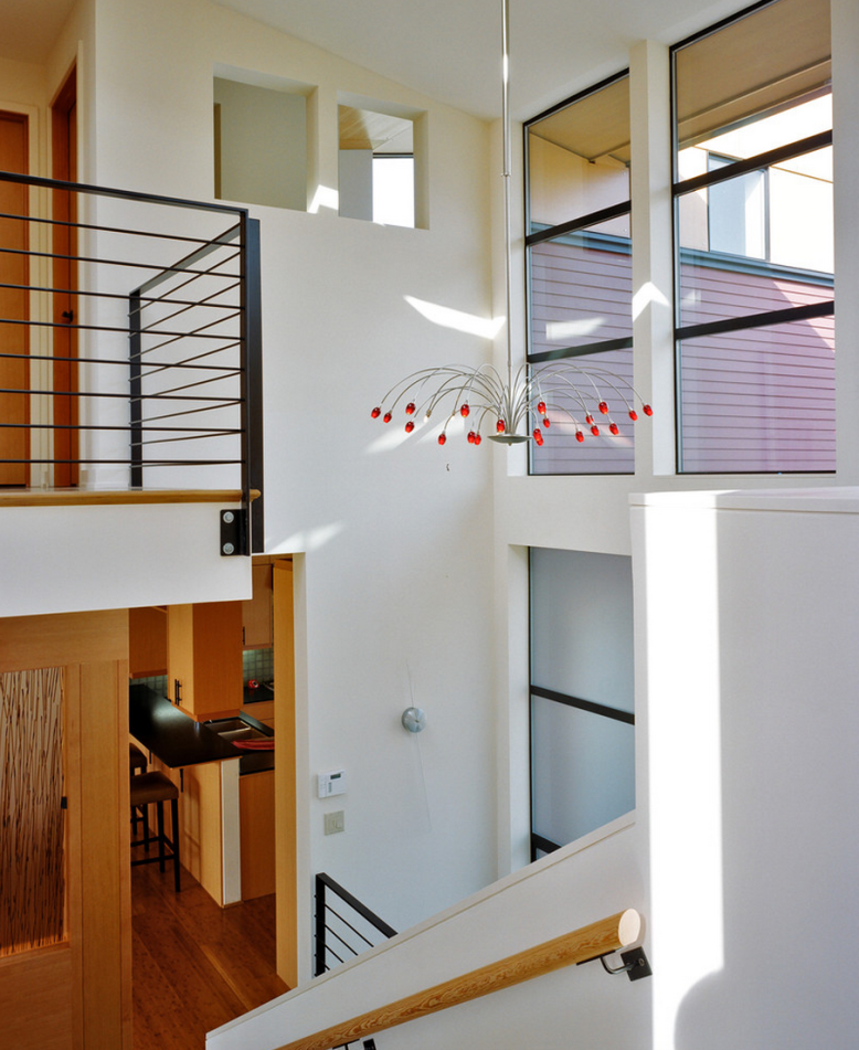 a new modern residence designed by Rhodes Architecture