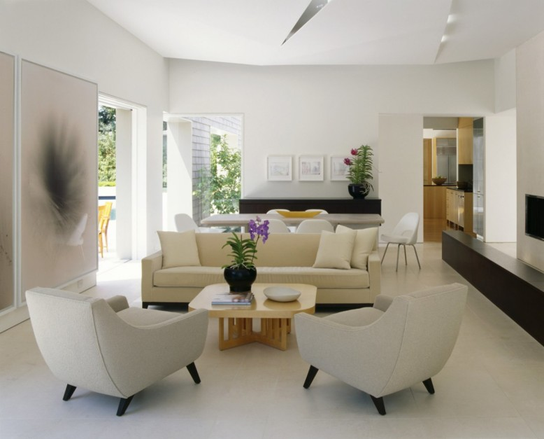 Modern Residence by Dirk Denison Architects
