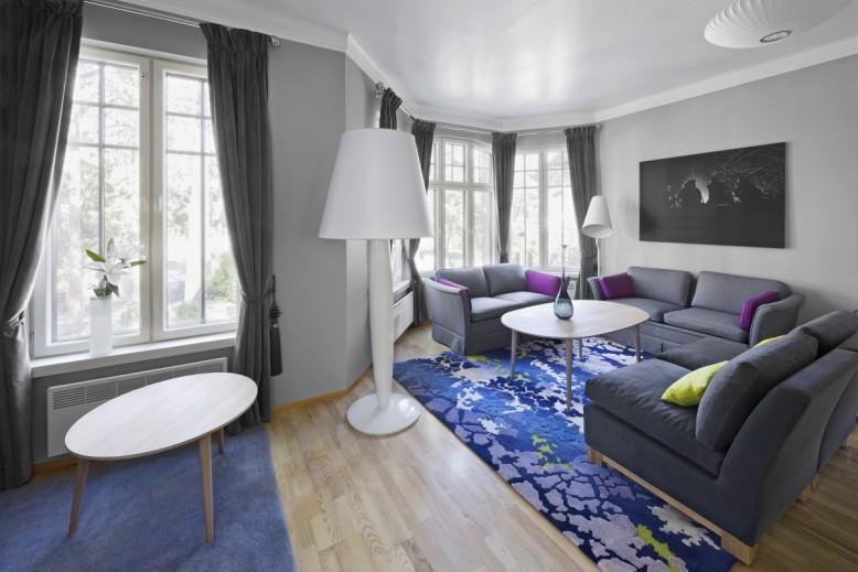 Norwegian Official Residence by Dis. interiørarkitekter mnil