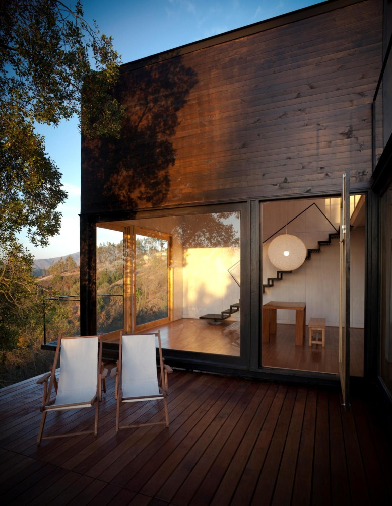 Pangal Cabin by EMa Arquitectos