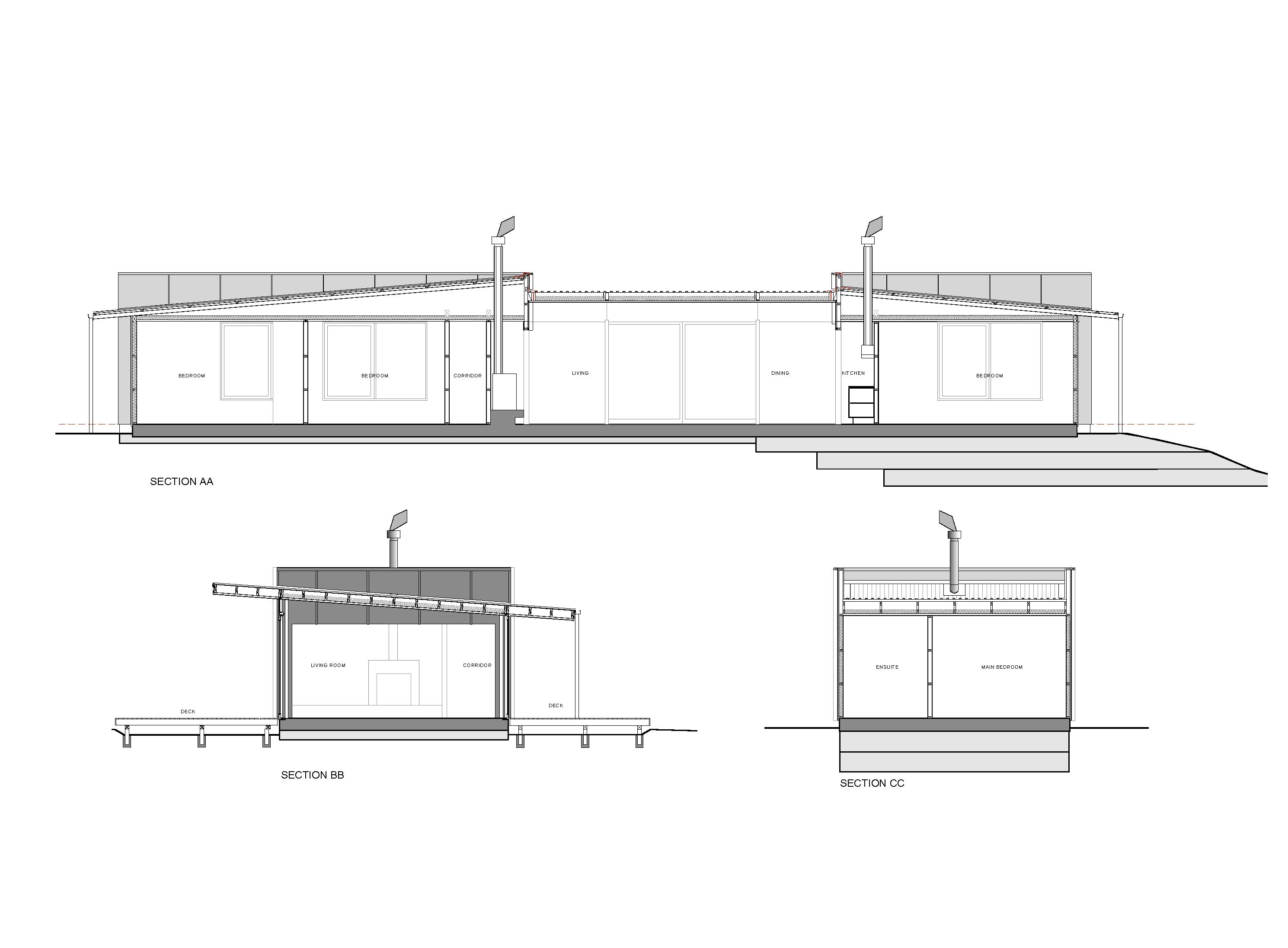 Charming Pekapeka House By Parsonson Architects