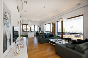 Penthouse in Wilanów by HOLA Design