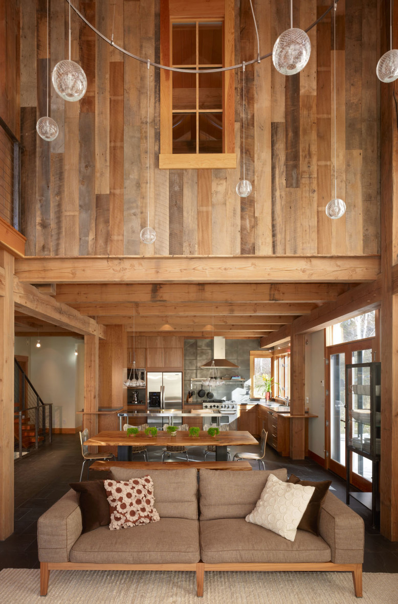 Wooden Residence by Robert Hawkins Architects