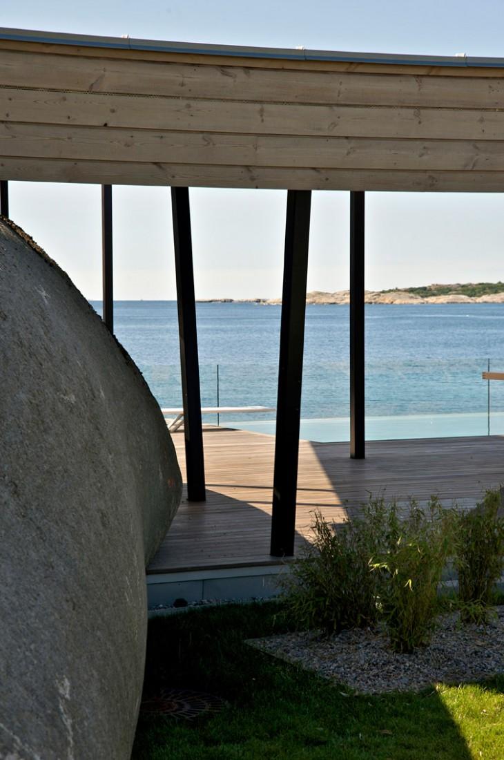 modern summer home in Norway