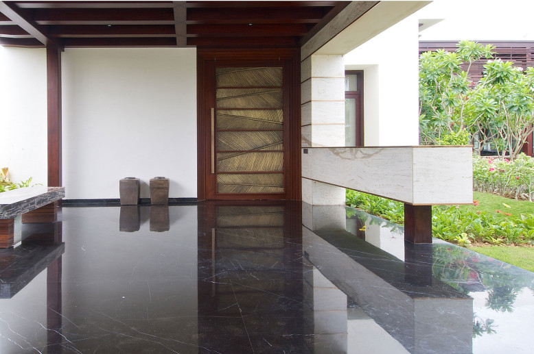 Modern residence located in Ahmedabad, India