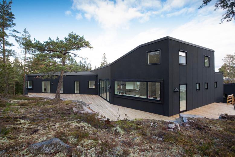Villa Blåbär by pS Arkitektur