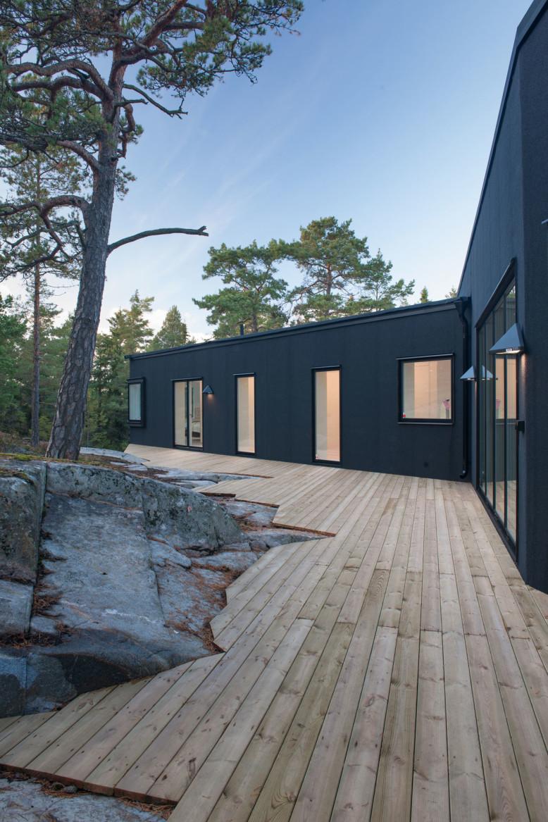 Villa in Sweden by pS Arkitektur