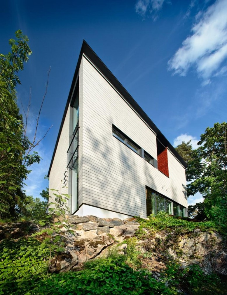 modern city villa in North Helsinki