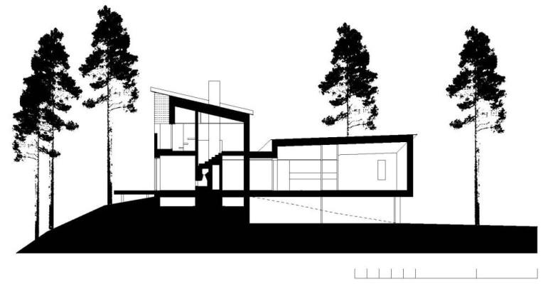 modern city villa