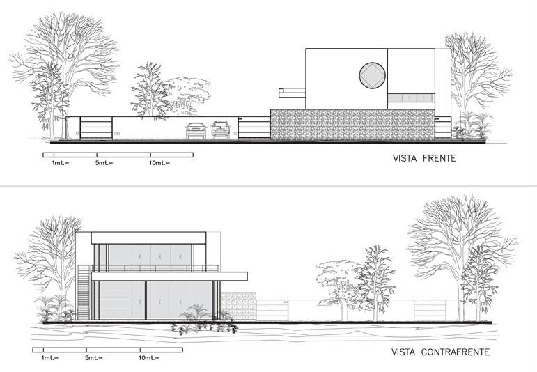 4,840 square feet modern residence