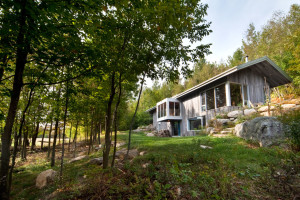 Bromont Residence by Blouin Tardif Architecture-Environnement
