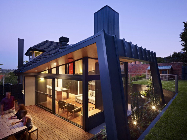 Renovated House by Nic Owen Architects