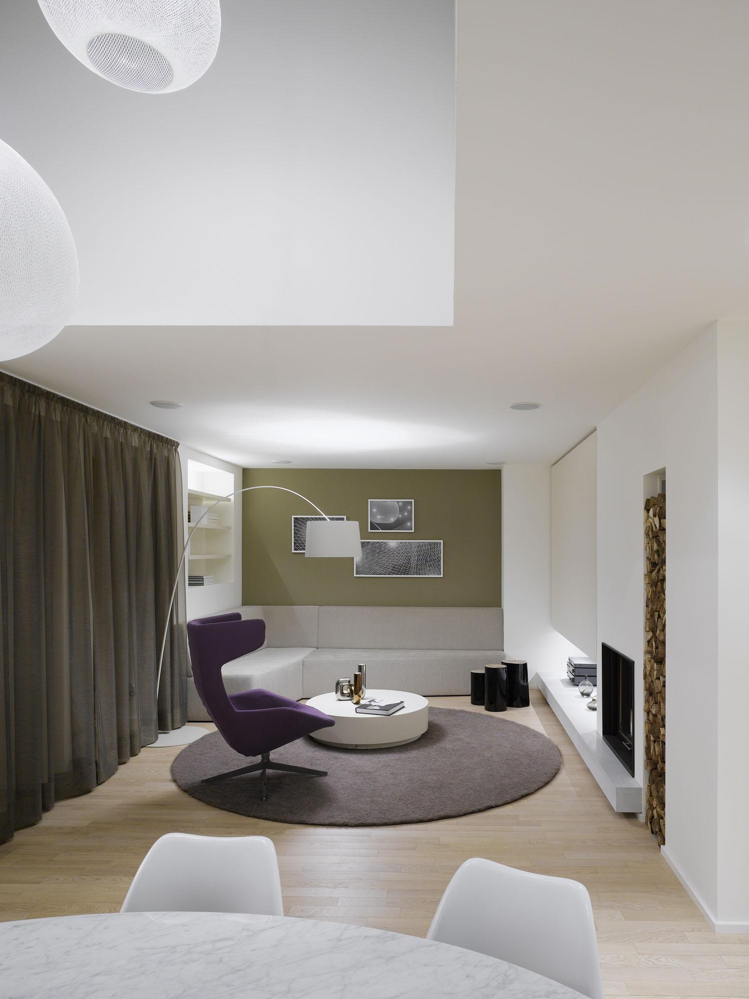 quant 1 apartment by ippolito fleitz group homedezen. Black Bedroom Furniture Sets. Home Design Ideas
