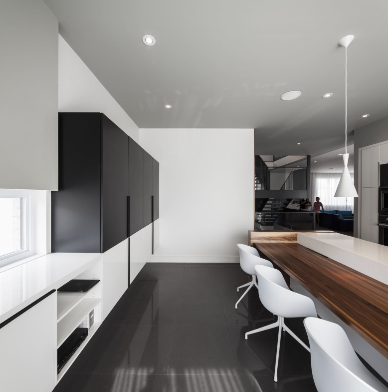 Modern interior in Montreal