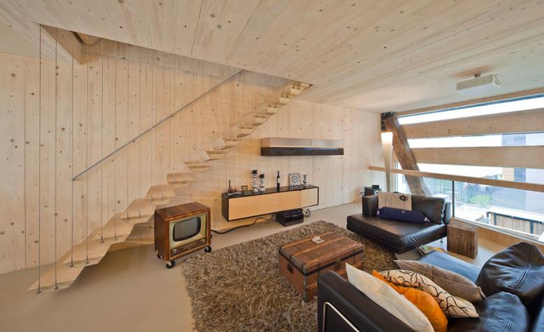 Energy neutral residence by FARO Arquitecten