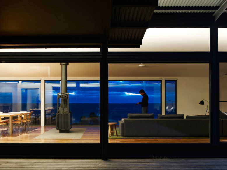 Contemporary residence with amazing ocean views