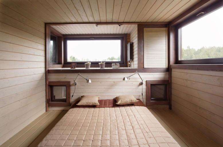 VoThree level modern cottage in Russialga House by Peter Kostelov