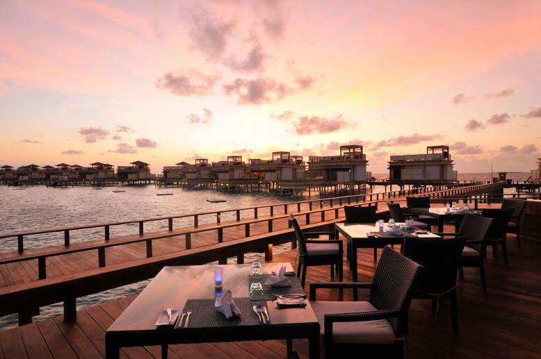 Tropical Resort in Maldives