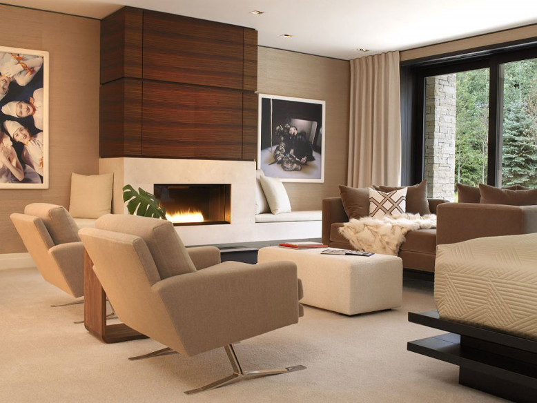 Aspen Art House by Stonefox Design