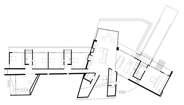 3,756 square foot single storey modern home
