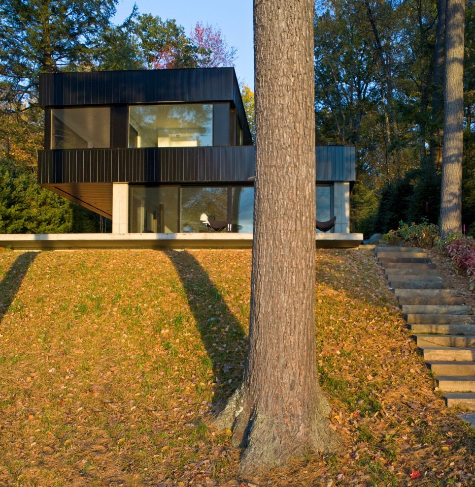 Home Design For Mac: Cantilever Lake House By Brian Mac