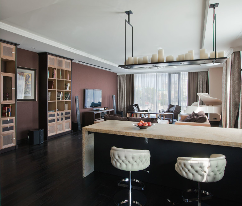 Custom 180 square meters flat in Moscow