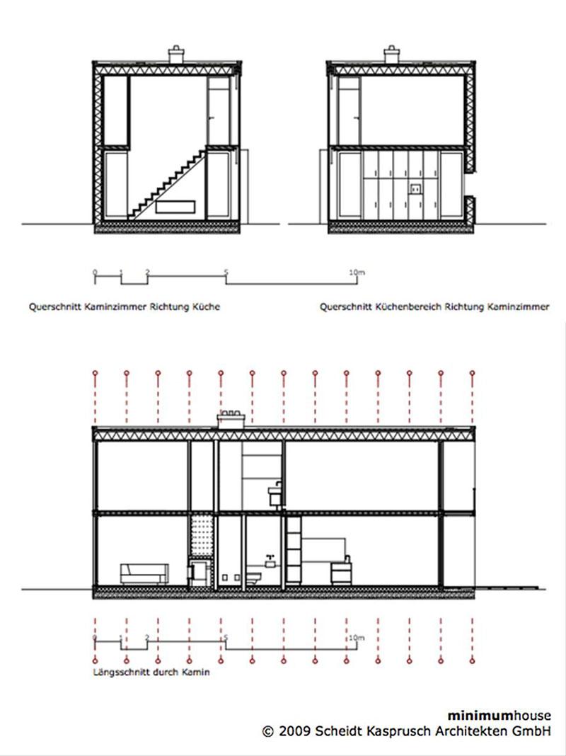 Minimum House By Scheidt Kasprusch Architekten Homedezen