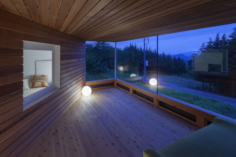 Wooden House in Japan