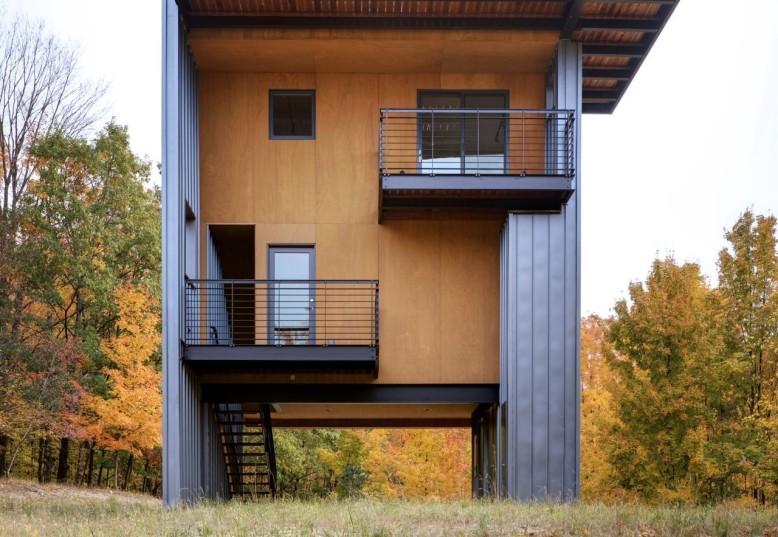 Glen Lake Tower by Balance Associates Architects