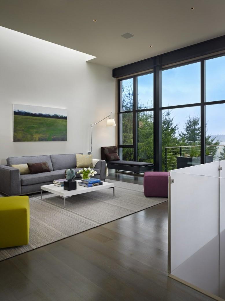 Hillside Modern by DeForest Architects
