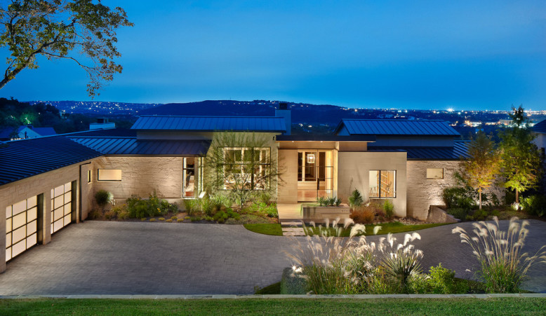 House on the Hill by James D LaRue Architecture Design