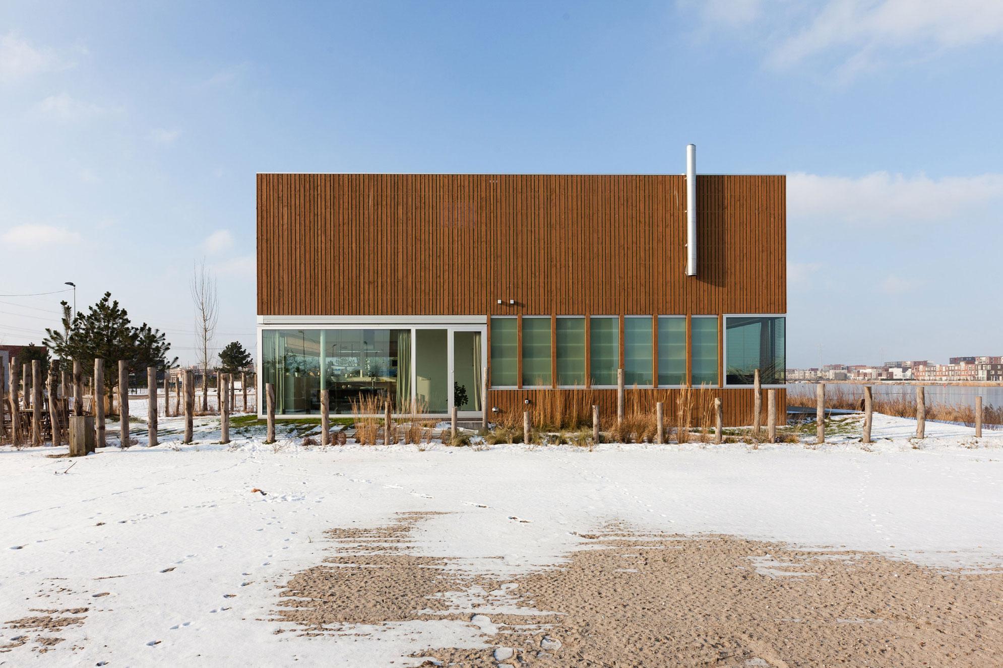 Ijburg villa by marc prosman architecten homedezen