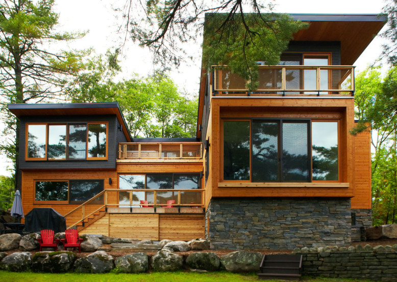 Mary Lake Residence by Altius Architecture