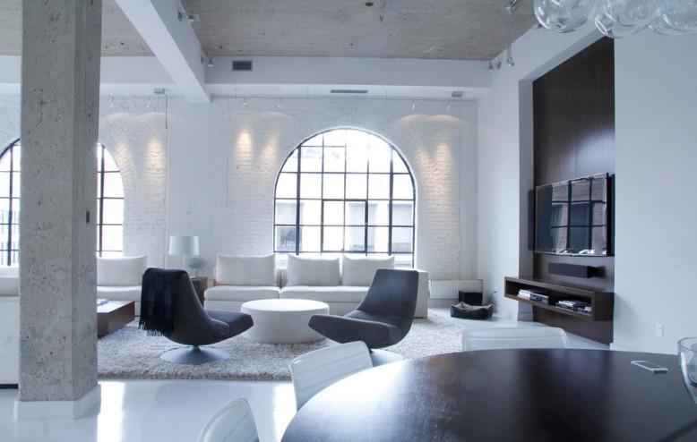 Montreal Penthouse by Julie Charbonneau
