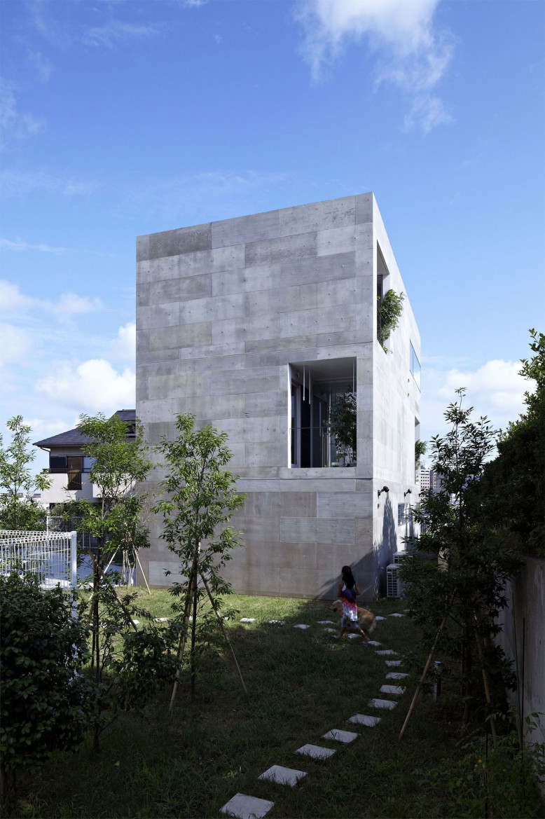 NDA house by no.555 Architectural Design Office