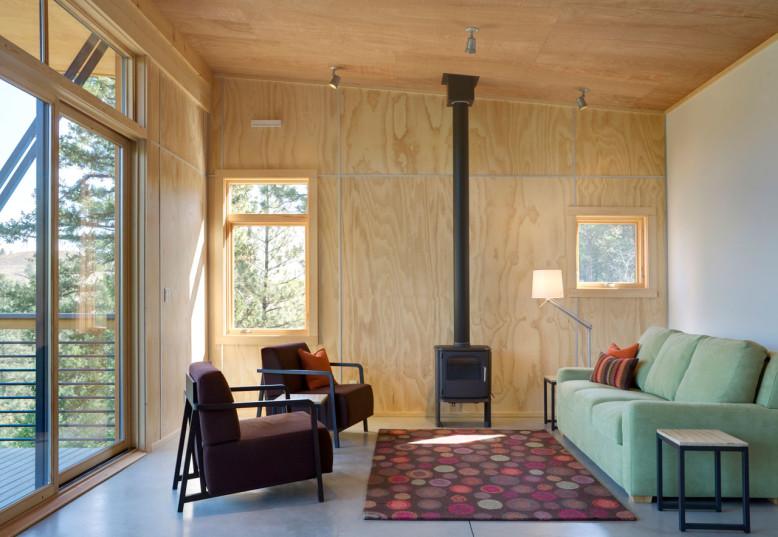 Modern Cabin by Balance Associates Architects